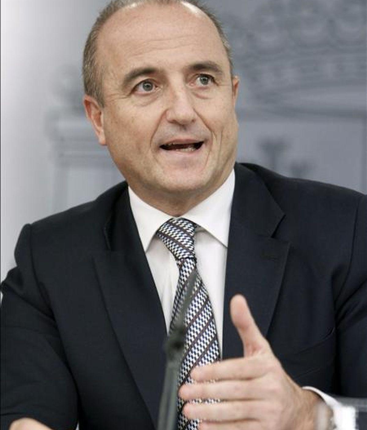 El ministro de Industria, Turismo y Comercio, Miguel Sebastián. EFE/Archivo