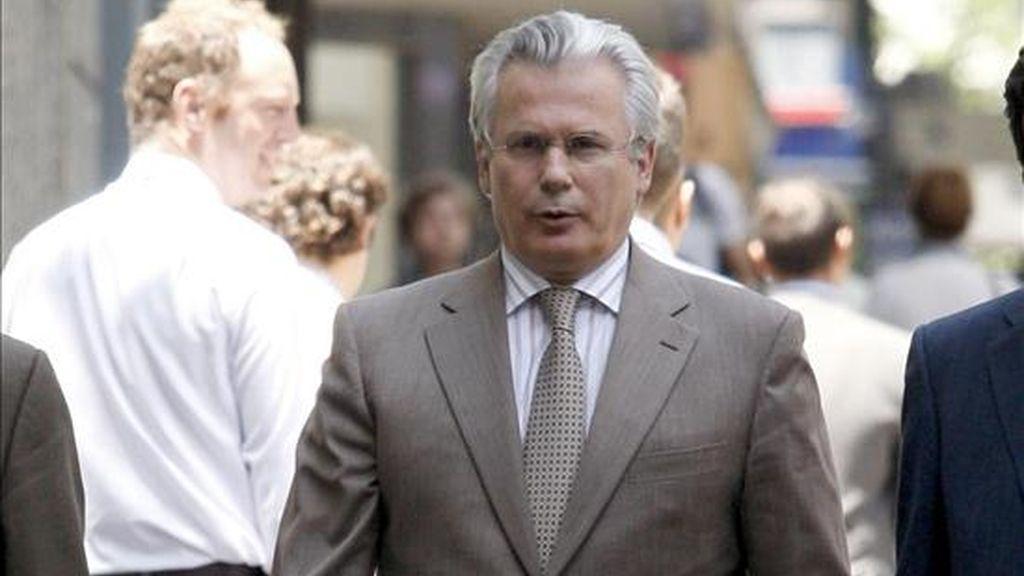 En la imagen, ell juez Baltasar Garzón a su llegada a la Audiencia Nacional. EFE/Archivo