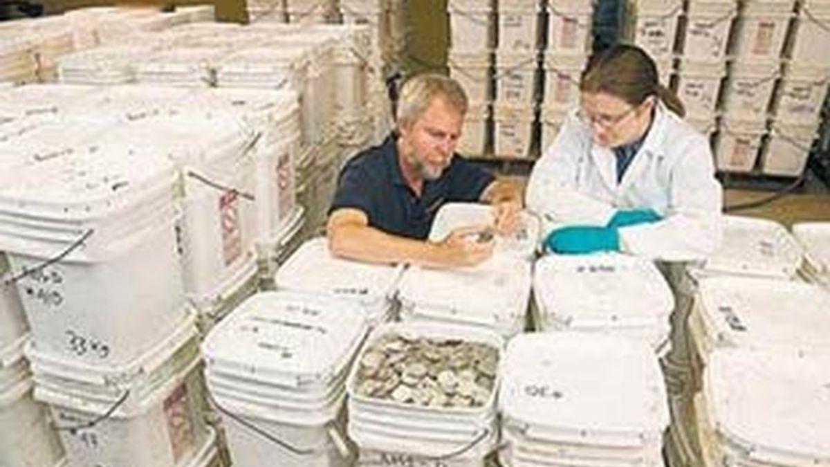 El tesoro está valorado en 500 millones de dólares. Foto: EFE