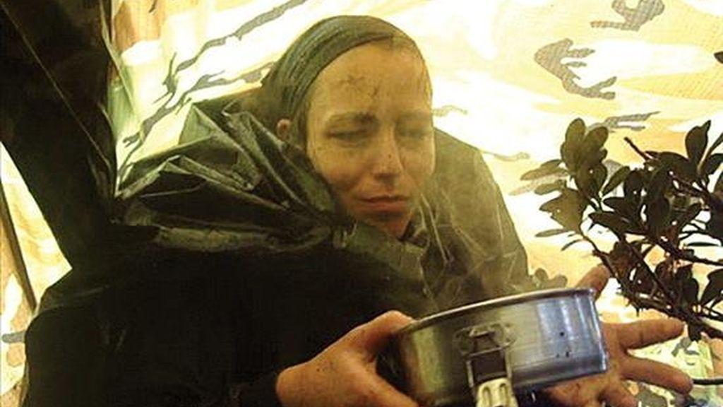 Fotografía cedida el pasado 9 de octubre, por el Ministerio de Defensa de Colombia, en la que se observa a la guerrillera holandesa de las FARC, Tanja Nijmeijer. EFE/Archivo