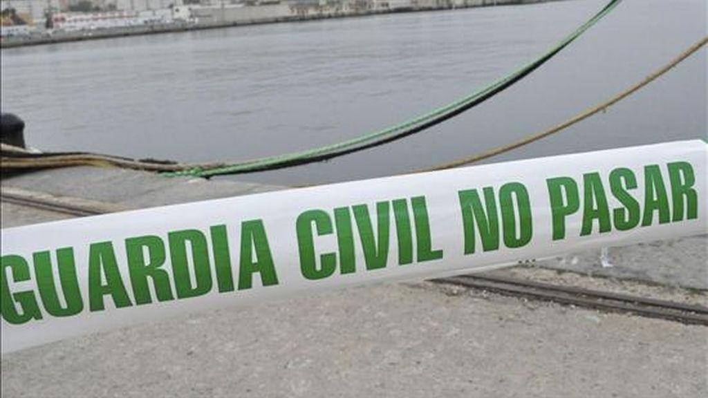 Zona acordonada por la Guardia Civil en un suceso. EFE/Archivo