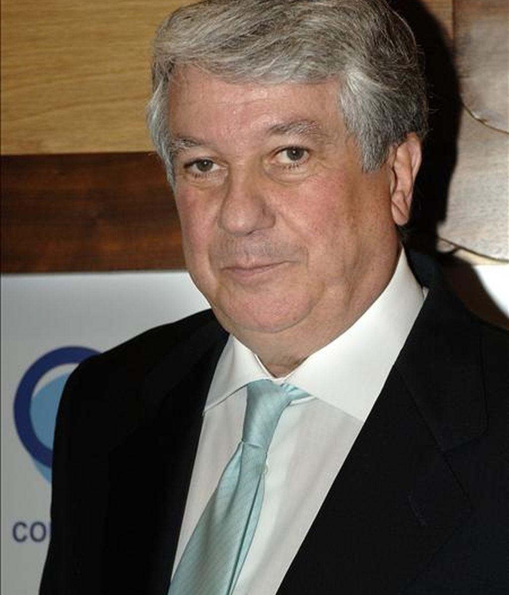El presidente de la patronal madrileña CEIM, Arturo Fernández. EFE/Archivo