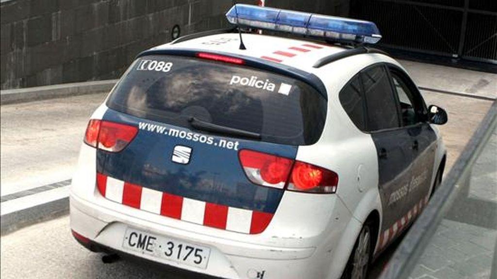 Un coche de los Mossos d´Esquadra en un suceso. EFE/Archivo