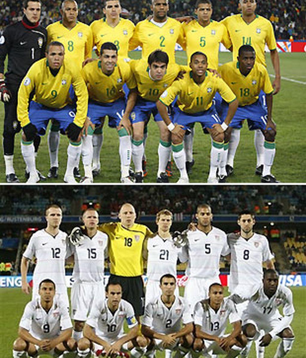Final inédita en la historia de la Copa Confederaciones. FOTOS: Archivo.