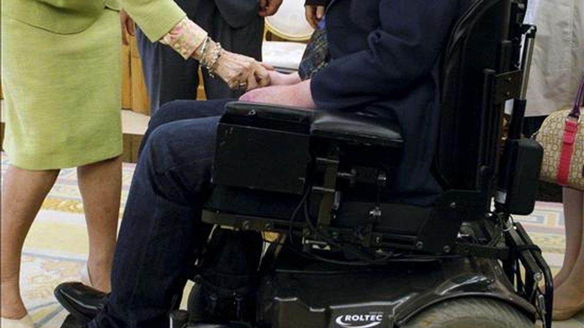 El empleo para personas con discapacidad creció un 18 por ciento en los cinco primeros meses del año, periodo en el que fueron contratadas casi 24.000 personas pertenecientes a este colectivo. EFE/Archivo