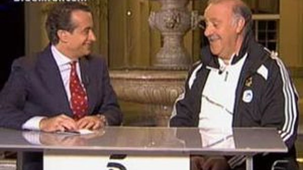 Del Bosque ha dado el once en Telecinco. Vídeo: INFORMATIVOS TELECINCO
