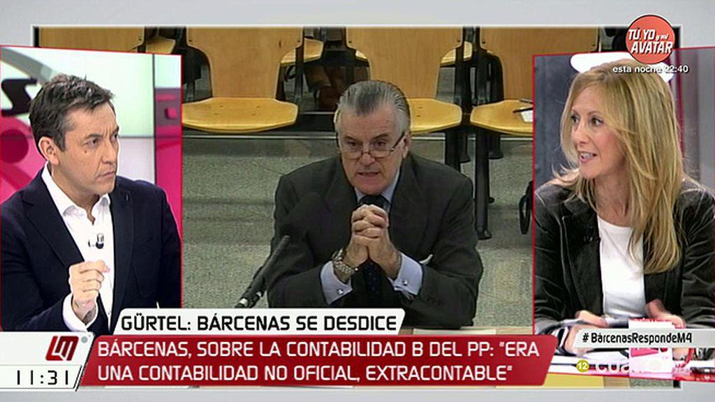Marta González (PP) niega que haya un pacto con Bárcenas