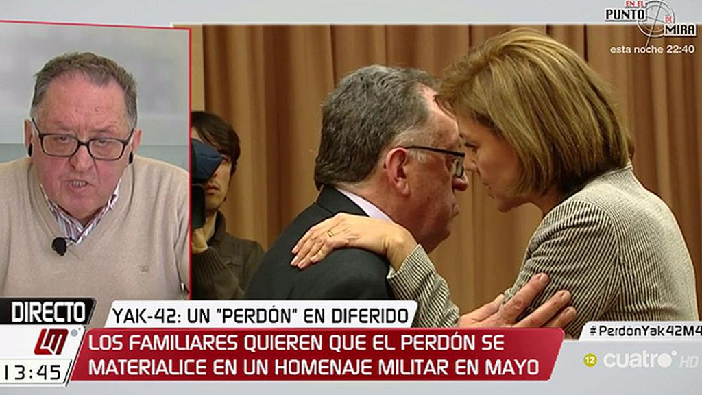 """Paco Cardona: """"Los documentos están en un cuarto oscuro del ministerio de Defensa"""""""