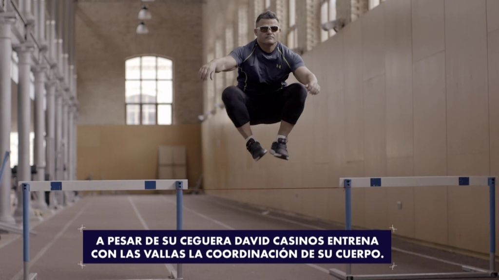 "David Casinos: ""El deporte salvó mi vida"""