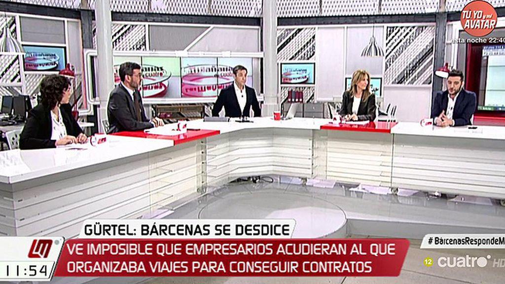 """Tania González (Podemos): """"El PP tiene pánico a que Bárcenas hable"""""""