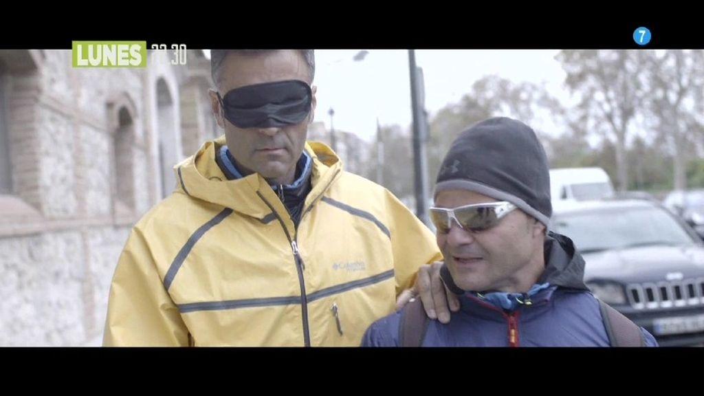 Rafa Lomana entrenará a ciegas con el atleta paralímpico David Casinos