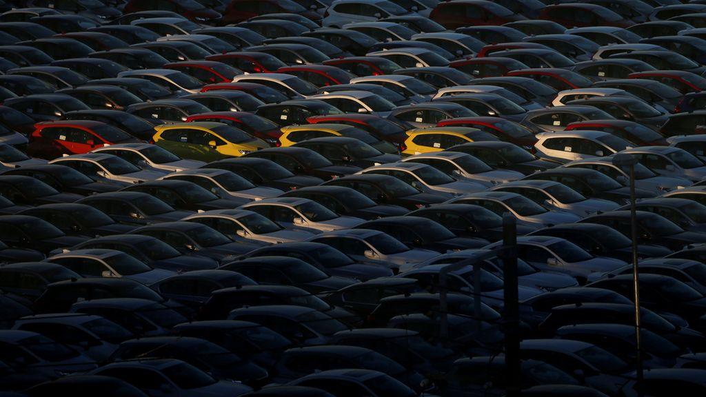 Una marea de coches