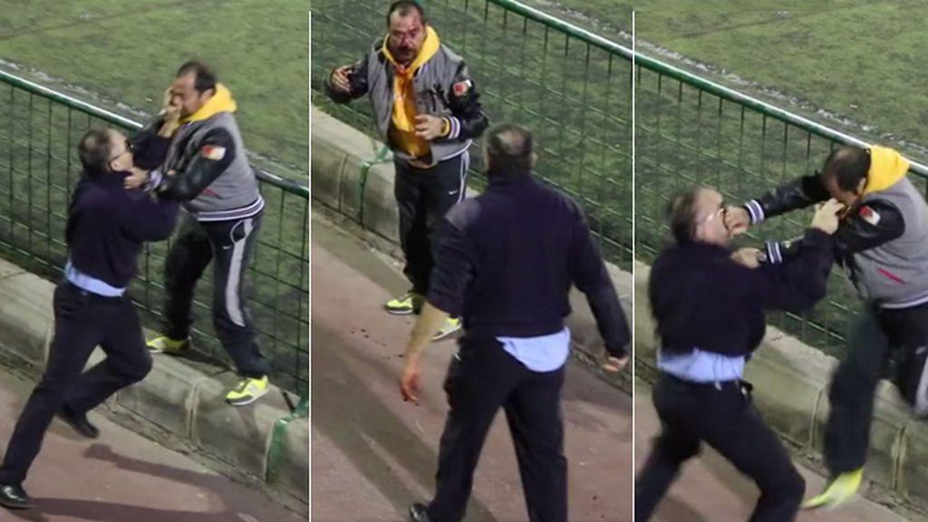 violencia en el fútbol