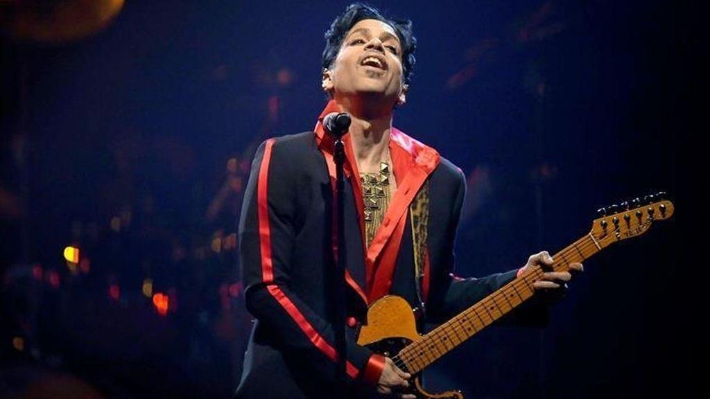 Prince durante una actuación en una imagen de archivo