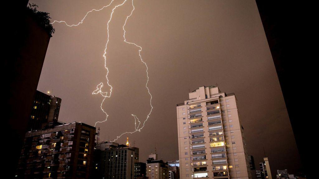 Tormenta eléctrica en Brasil