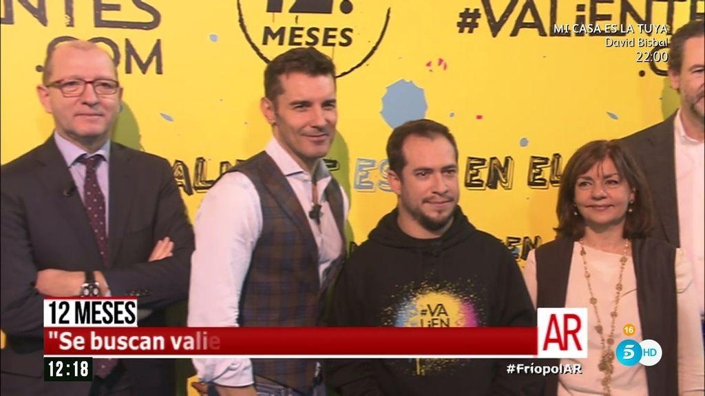 Jesús Vázquez y El Langui, las dos caras visibles de 'Se buscan #Valientes'
