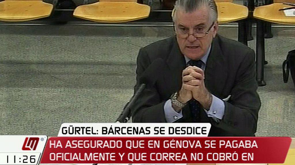 """Bárcenas: """"En la sede central del partido todo lo que se pagaba se pagaba oficialmente"""""""