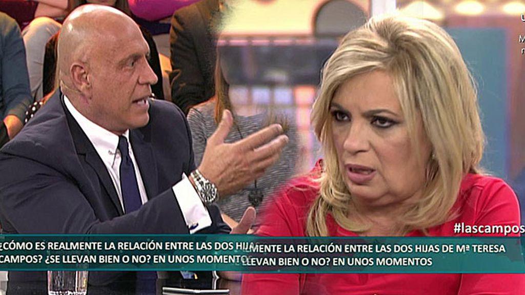 "Kiko Matamoros no se corta con Carmen Borrego: ""Eres el patito feo de la familia"""