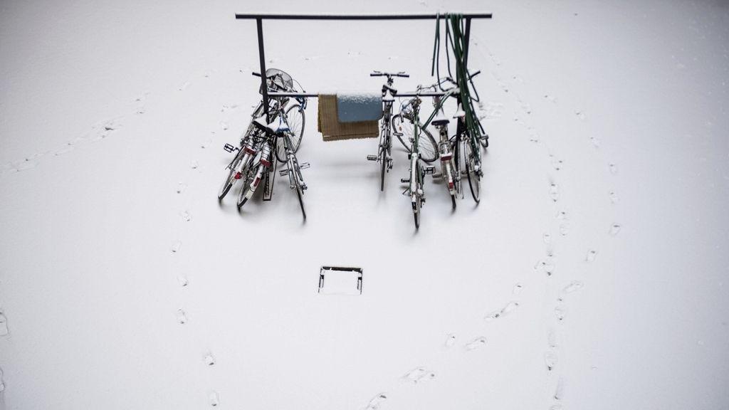Nieve en Hungría