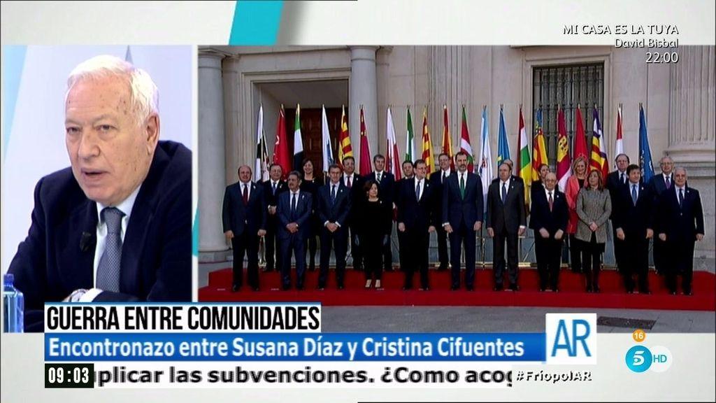 """García Margallo: """"El tema de la financiación autonómica es muy oscuro"""""""