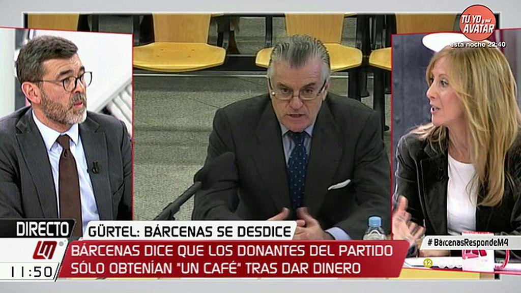 """Ricardo Cortés (PSOE): """"Que Bárcenas cambie de opinión no significa que el PP no esté manchado por la corrupción"""""""