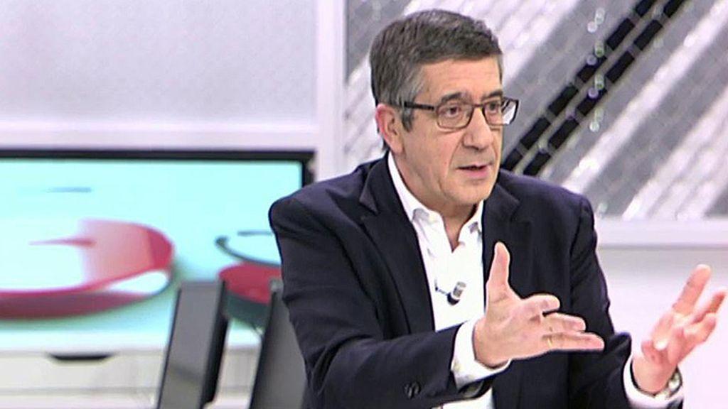 """P. López: """"Hay que dar un paso al frente y yo lo he dado, pero no por traicionar a nadie"""""""