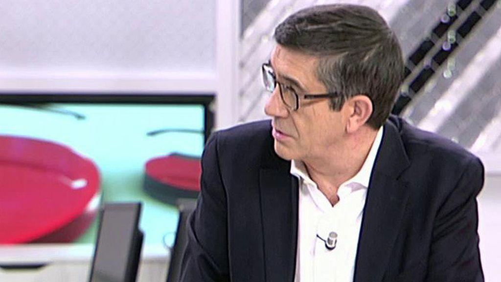 """Patxi López: """"Me presento como secretario general, no he decidido nada más"""""""