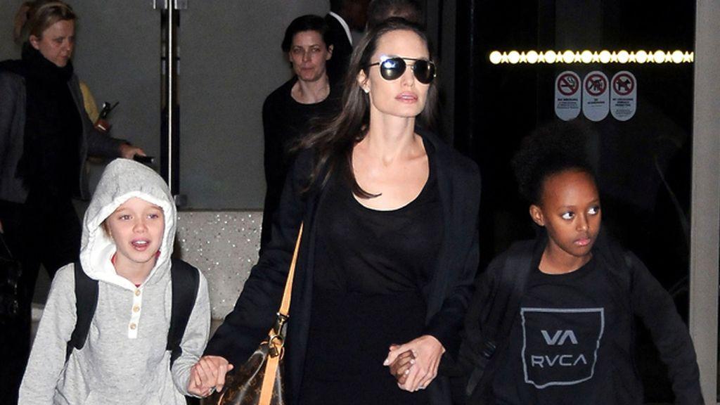 Zahara, hija adoptiva de Bard Pitt y Angelina Jolie