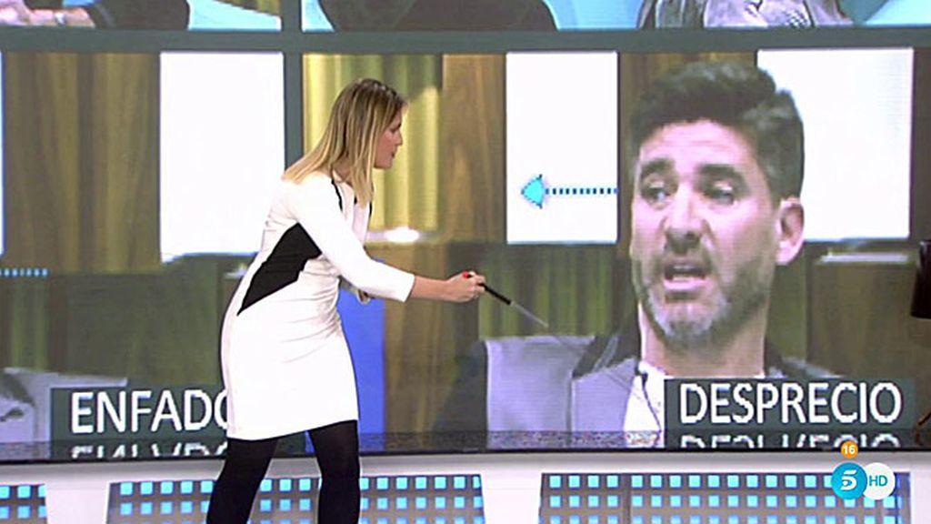 """Cristina Soria analiza los gestos de Toño: """"Siente desprecio por sus compañeros"""""""
