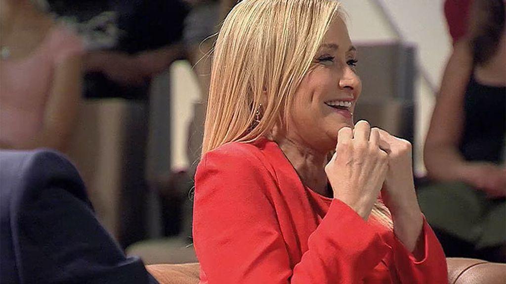 """Cristina, a Risto: """"Estás enamorado hasta la médula, eres como el cazador cazado"""""""