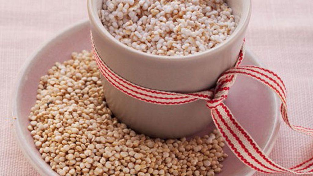 Amaranto y quinoa