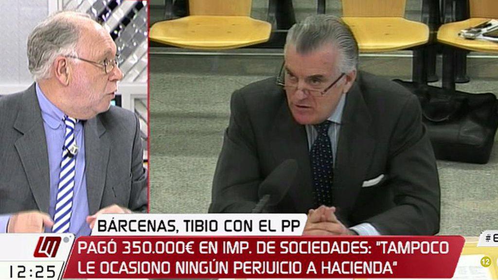 """Ernesto Ekaizer, de Bárcenas: """"Ha perdido la batalla judicial y está condenado"""""""
