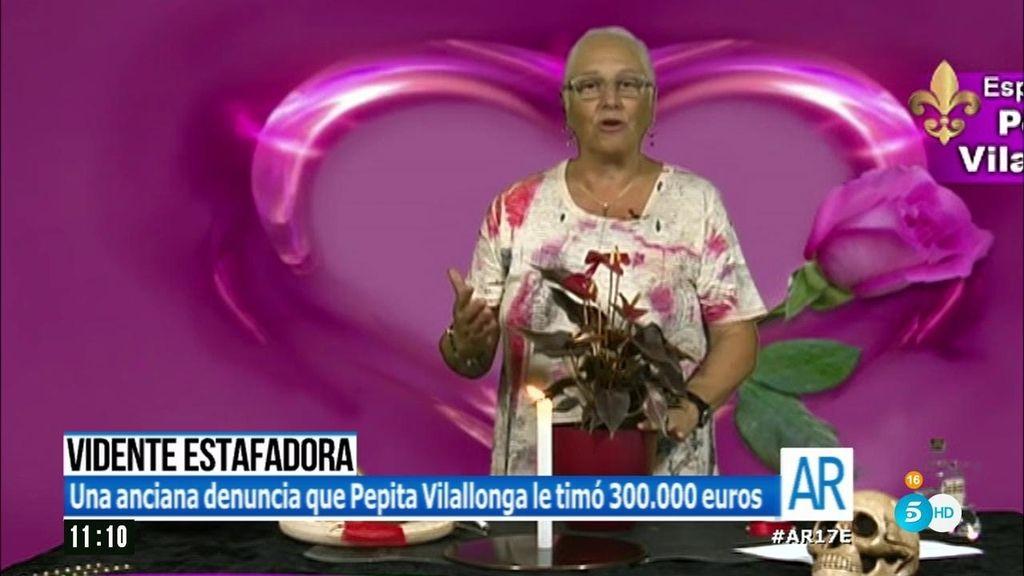 Pipa Villalonga detenida por timar a una anciana 300.000 euros