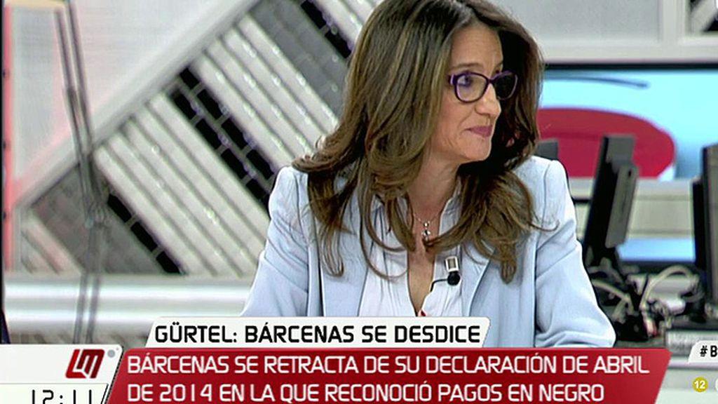 """Mónica Oltra: """"Alguien está mintiendo para tapar las porquerías del PP"""""""