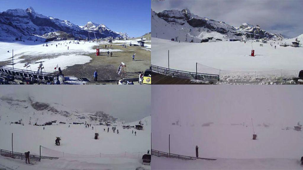 Nieve en Candanchú