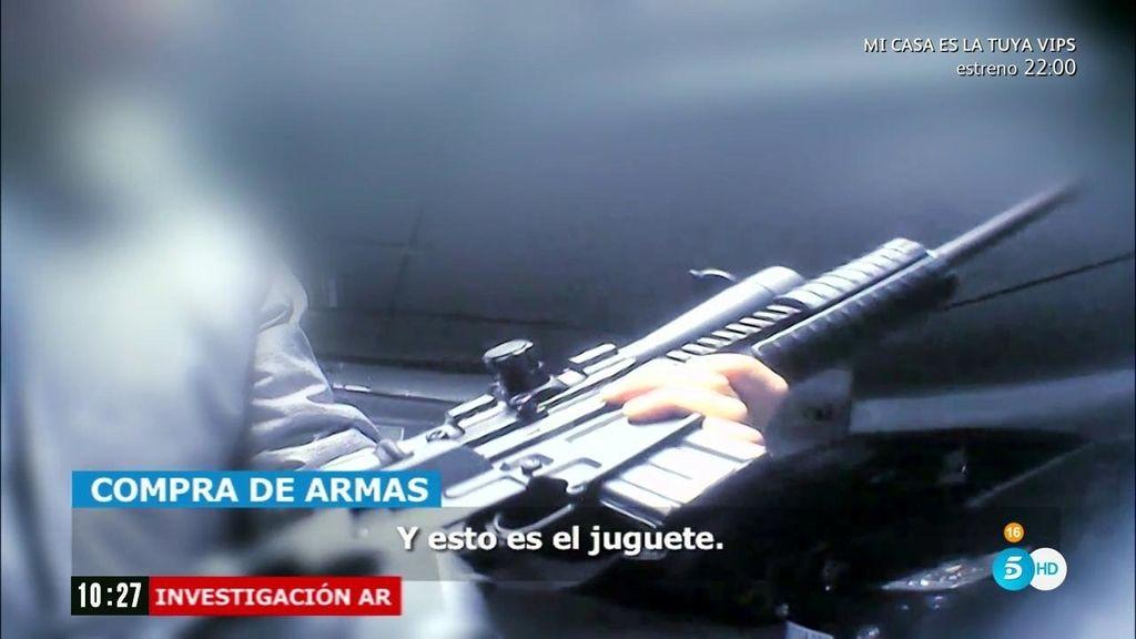 ¿Es fácil conseguir comprar un arma de fuego en España?
