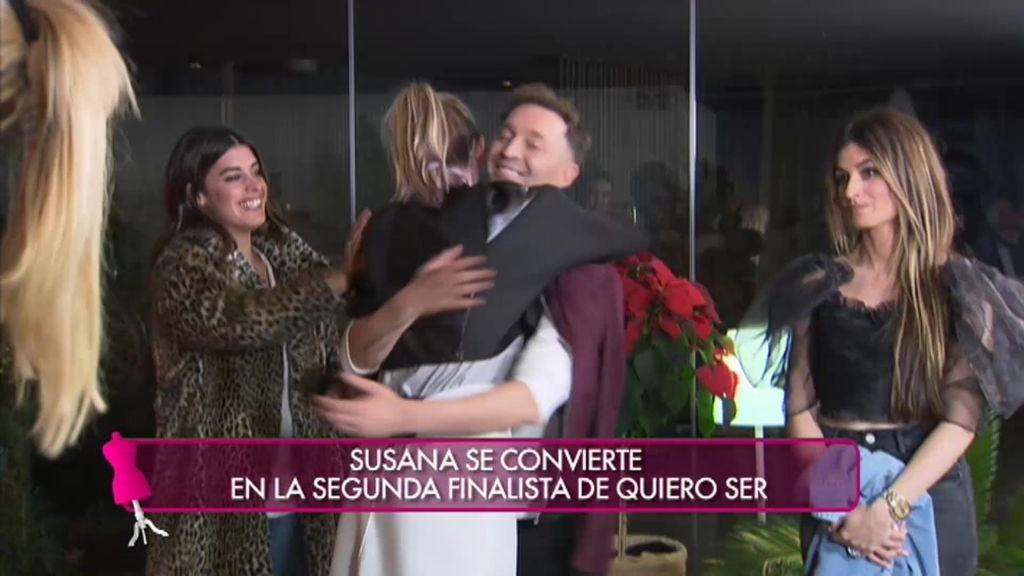 ¡Susana se convierte en la segunda finalista de 'Quiero Ser' con su look para Dulceida!