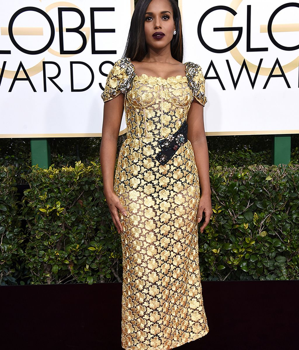 Kerry Washington vestida de Dolce & Gabbana