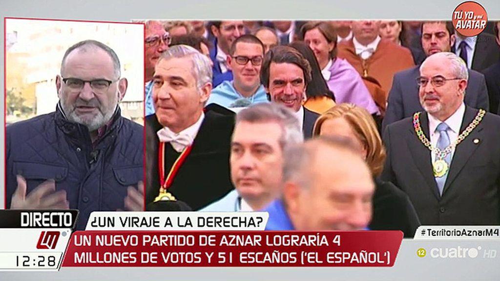 """Losada: """"Aznar es una marca que factura y necesita estar en el mercado"""""""