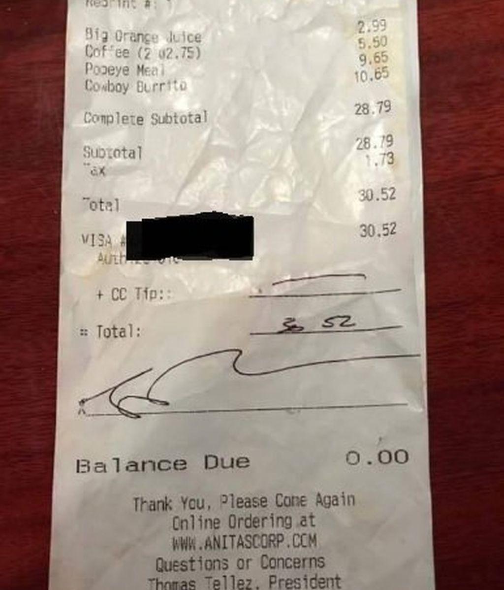 """""""No damos propina a la gente negra"""", el lamentable mensaje racista para una camarera"""