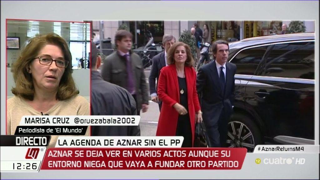 """M. Cruz ('El Mundo'): """"Aznar no va a montar un nuevo partido, parece de ciencia ficción"""""""