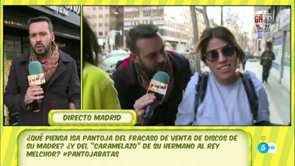 Kike Calleja localiza en Madrid a Isa Pantoja