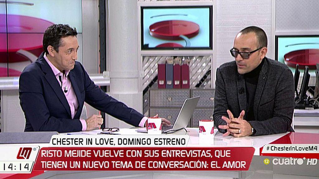"""Risto Mejide: """"Gabriel Rufián me dijo: 'Me has dado el zasca de mi vida, así que ten piedad"""""""