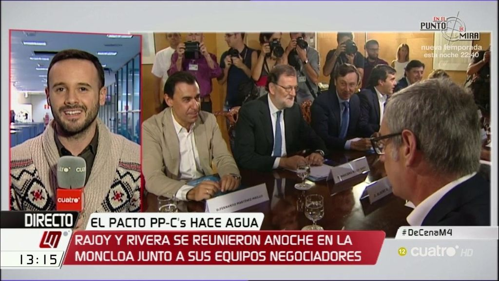 """""""Vieiras gratinadas, lubina al tomillo y leche frita"""", el menú de la cena de PP- Ciudadanos"""