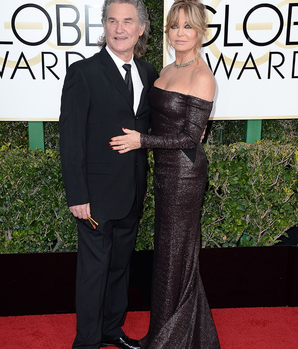 Posado de Kurt Russell y Goldie Hawn
