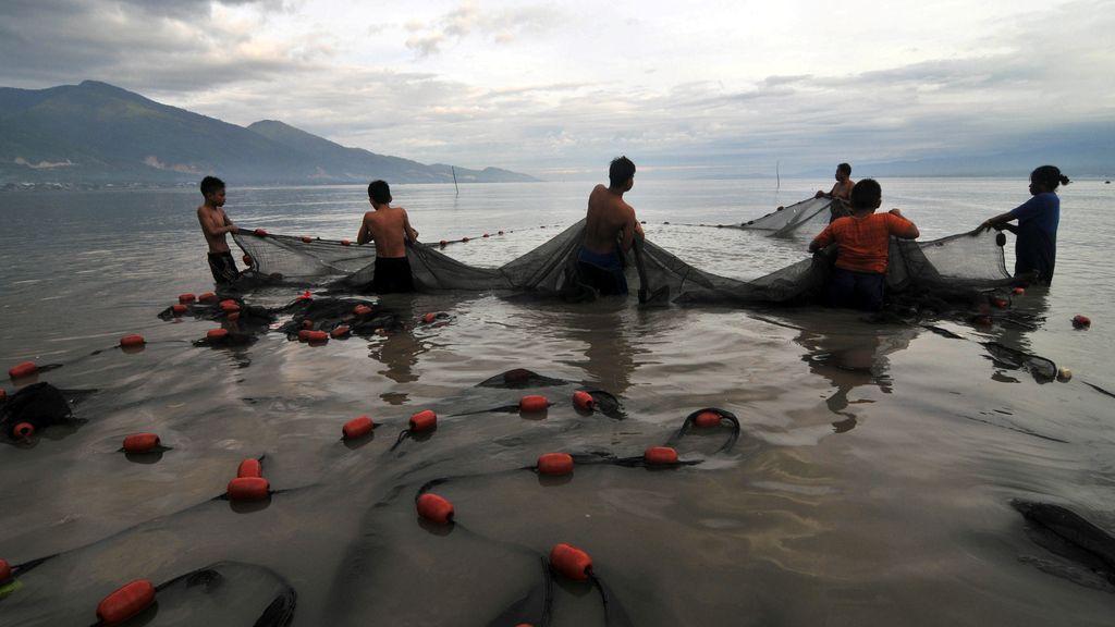 Los pescadores de Indonesia