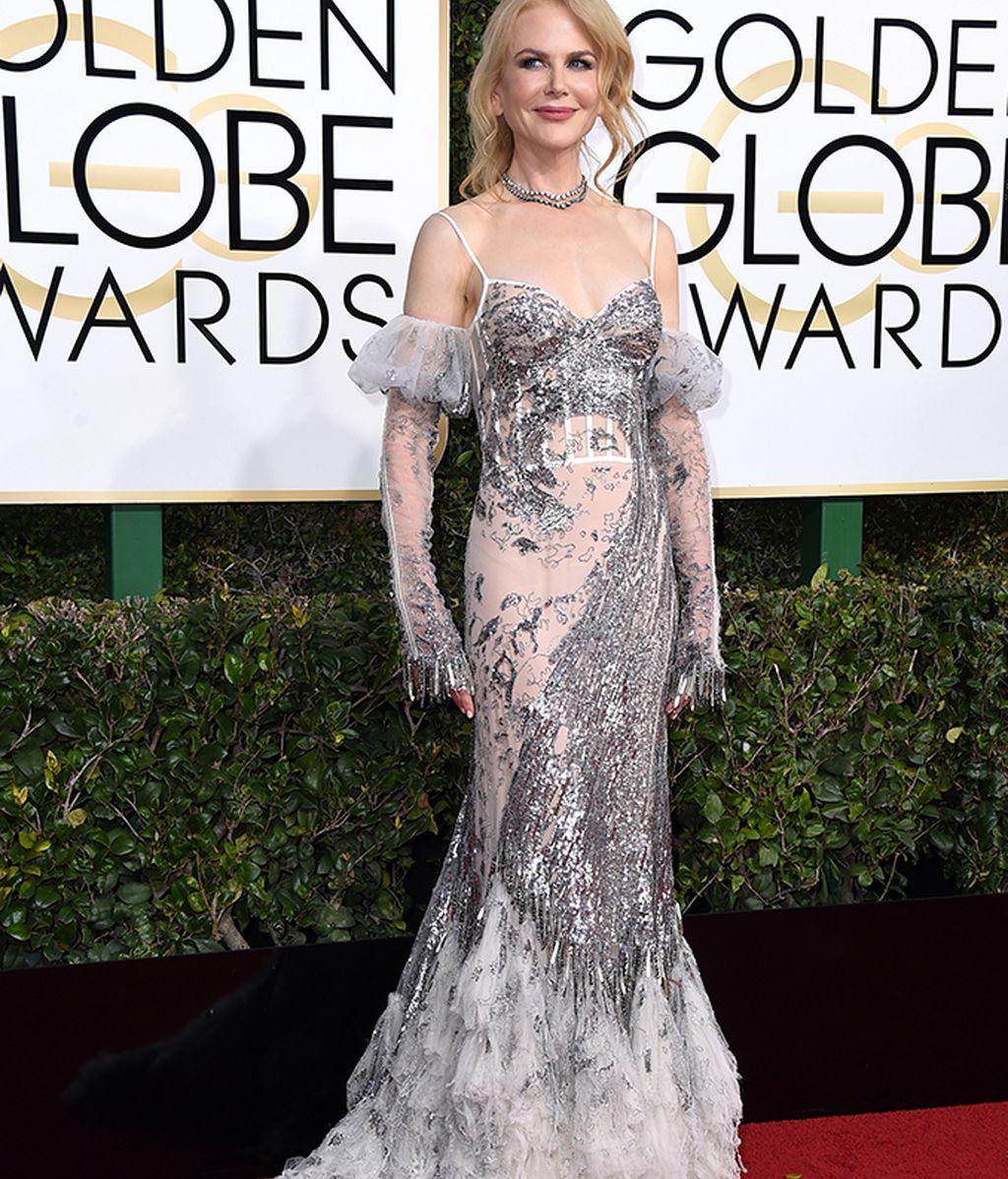 Nicole Kidman con vestido de Alexander McQueen