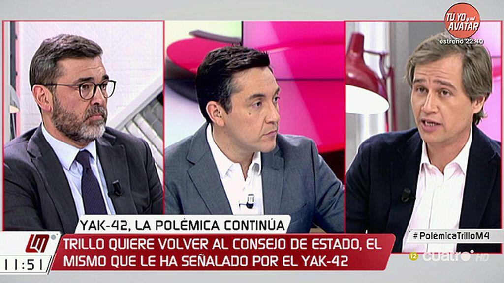 """Ricardo Cortés (PSOE), sobre el Yak-42: """"Hay que buscar las responsabilidades políticas en quien era ministro"""""""
