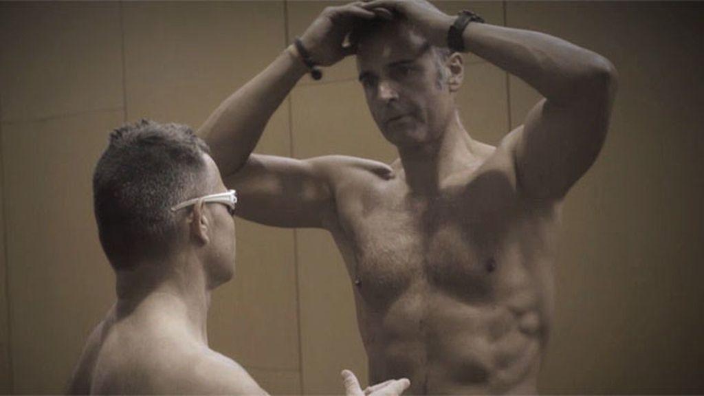 Rafa Lomana se pone a prueba con David Casinos, cinco veces medallista paralímpico