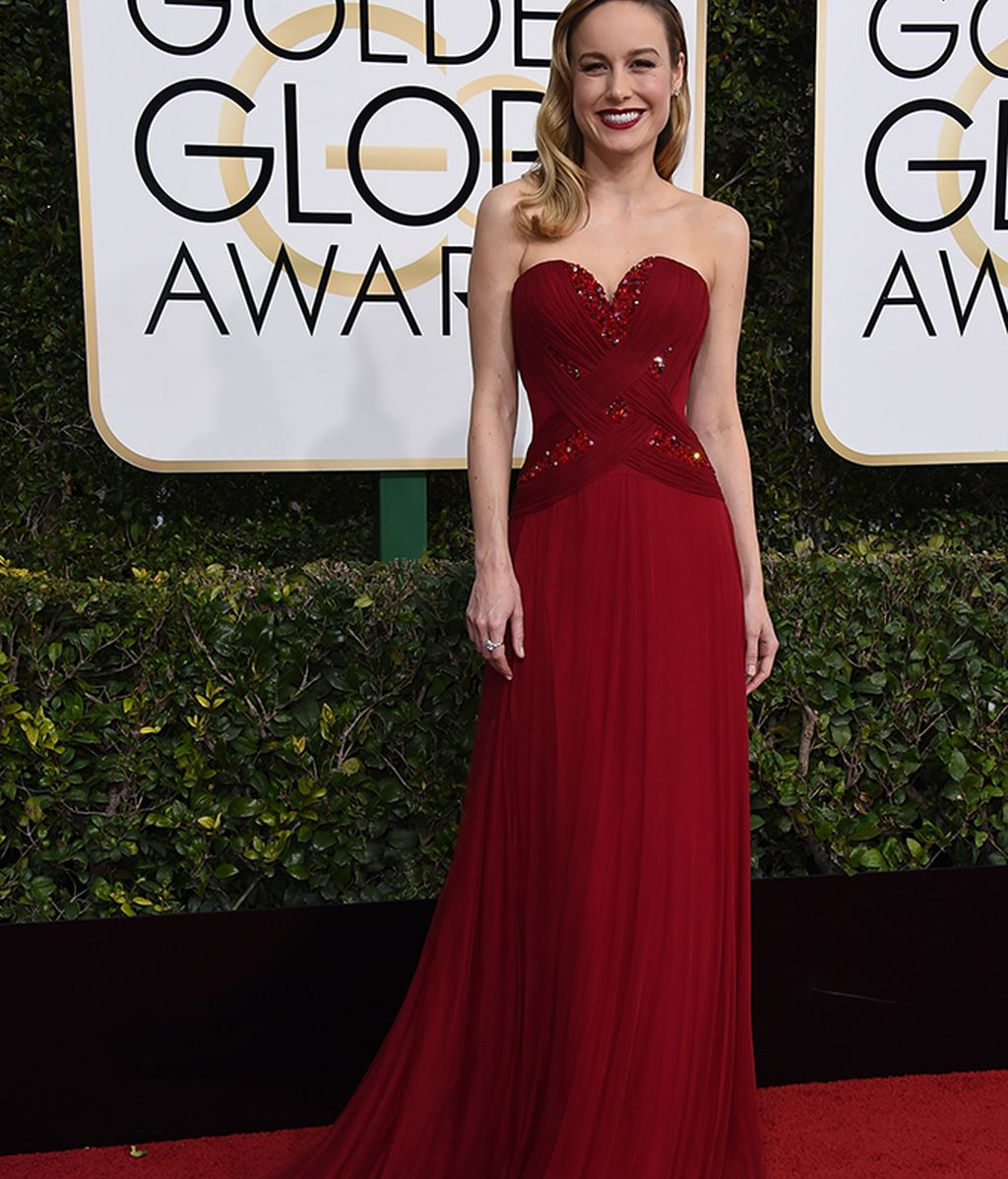 Brie Larson vestida de Rodarte